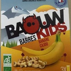 barres baouw kids banane cajou