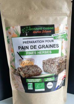 préparation pour pain de graines fines herbes