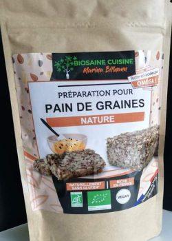 préparation pour pain de graines nature
